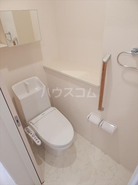 Airis 105号室のトイレ