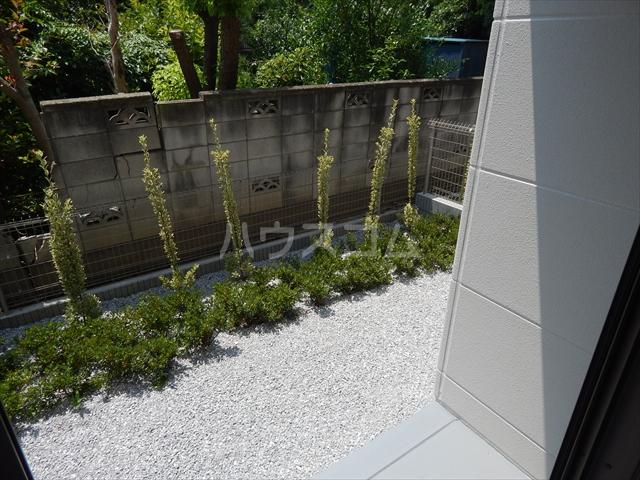 Airis 105号室の庭