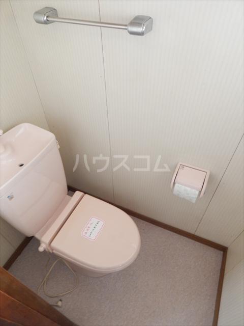 杉戸町鷲巣貸家のトイレ