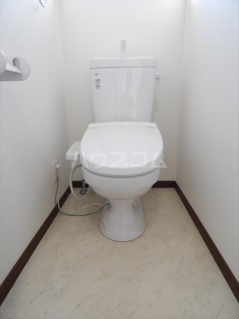 サンライズ春日部 101号室のトイレ