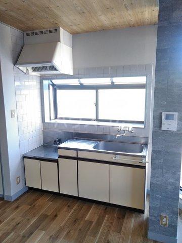 七色ハウス大沼 202号室のキッチン
