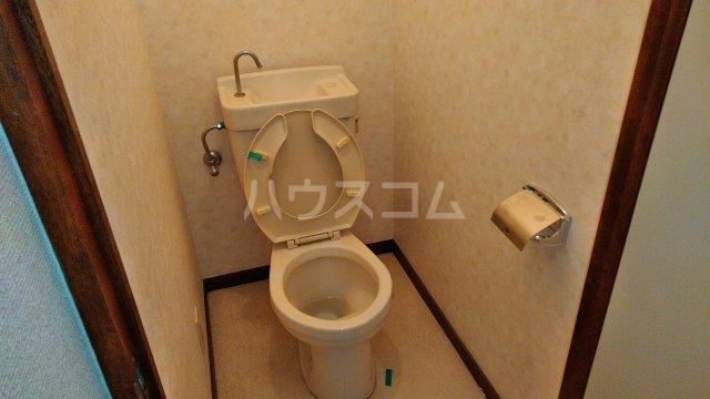 スカイプラザ 305号室のトイレ