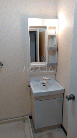 スカイプラザ 305号室の洗面所