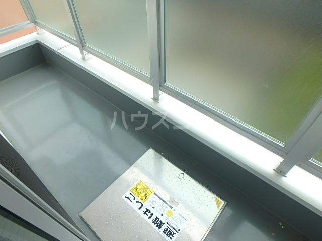 +CORE 401号室のバルコニー