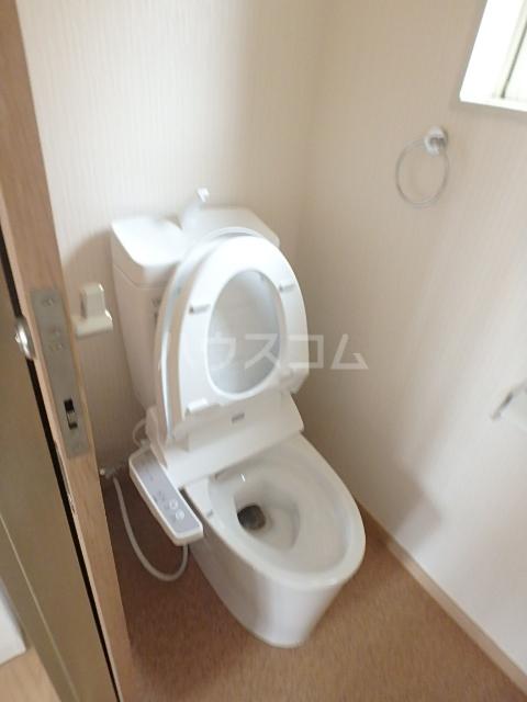 コスモクレール 201号室のトイレ