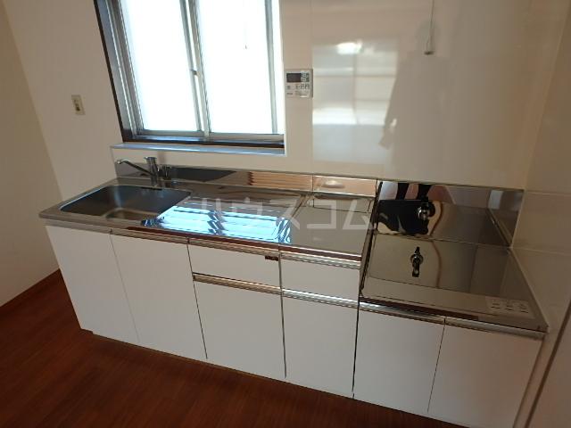 プランドール 202号室のキッチン