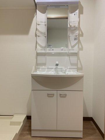 ベイシティ 201号室の洗面所