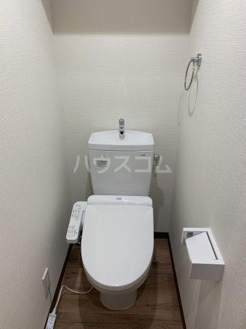 ベイシティ 202号室のトイレ
