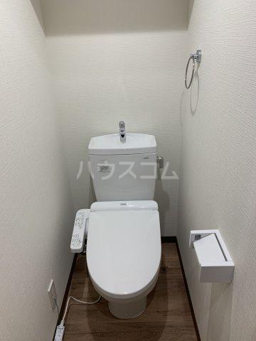 ベイシティ 301号室のトイレ