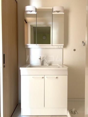 エルプレイス下総中山Ⅲ 102号室の洗面所