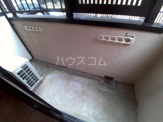 グランピエールK2 207号室のバルコニー