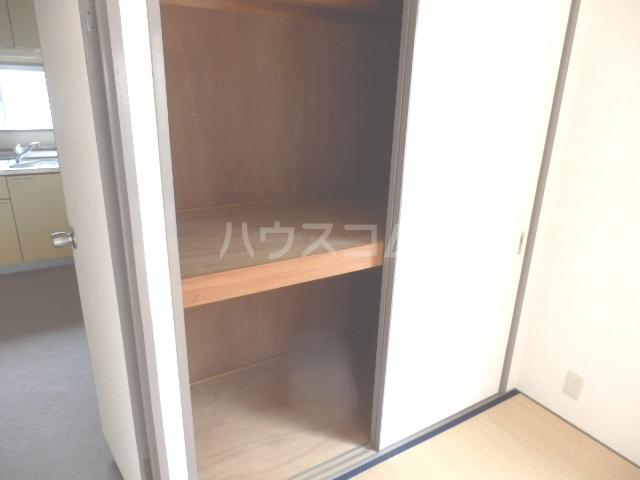 ウエストウイング 204号室の収納