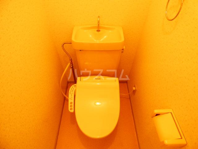 グリシーヌ藤崎Ⅱ 202号室のトイレ