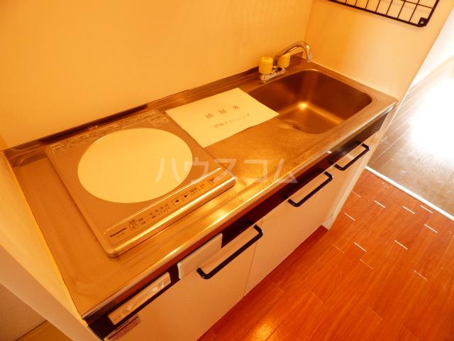 グリシーヌ藤崎Ⅱ 202号室のキッチン