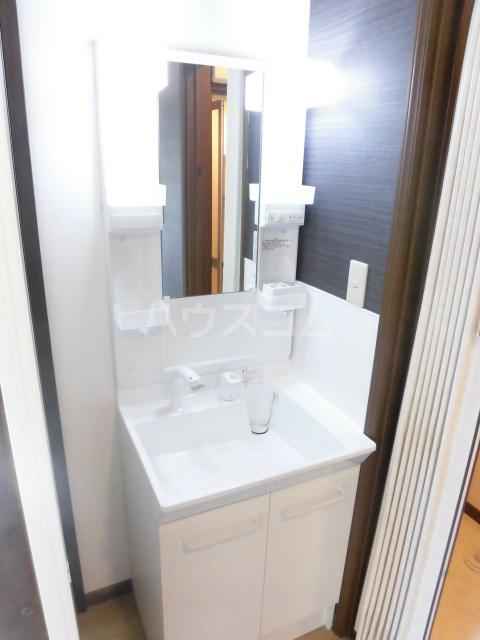 レジデンス大沢 101号室の洗面所