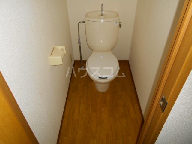 サンエミネントⅡ 203号室のトイレ