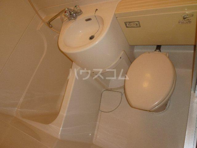 メゾン森 302号室のトイレ