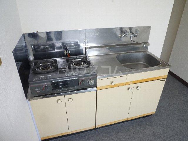 メゾン森 302号室のキッチン