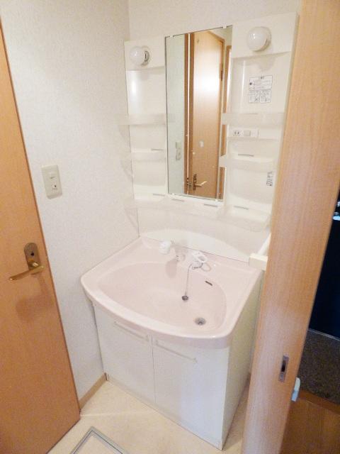 イマヴリューマンション 306号室の洗面所
