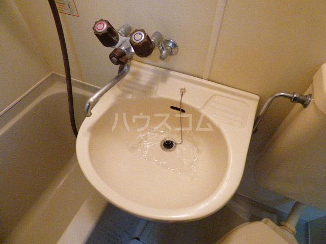 ヒルトップ花咲 202号室の洗面所