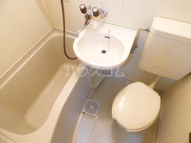 ヒルトップ花咲 205号室の洗面所