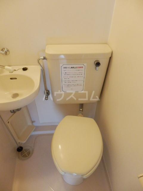ジュネパレス津田沼第5 402号室のトイレ
