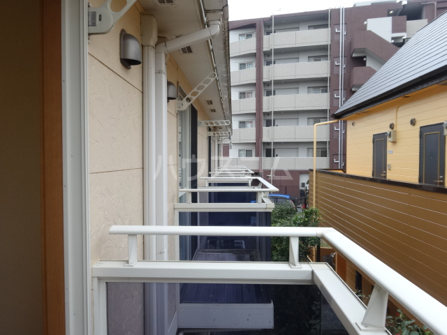 セナリオフォルム東船橋 105号室のバルコニー
