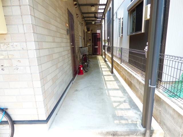 アッパルタメント・ロッソ 101号室のエントランス