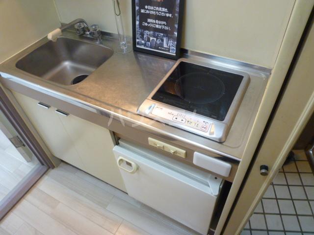 ジュネパレス津田沼第24 206号室のキッチン