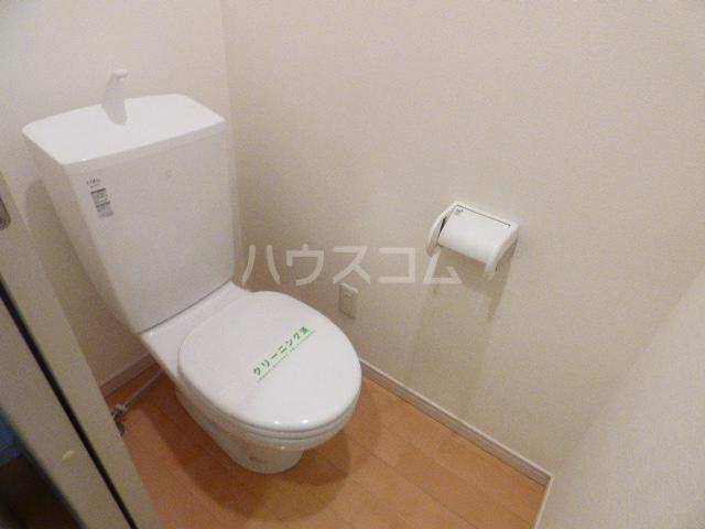 Riria幕張壱番館 402号室のトイレ