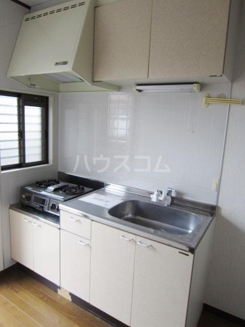 ヴェリエール三山 201号室のキッチン