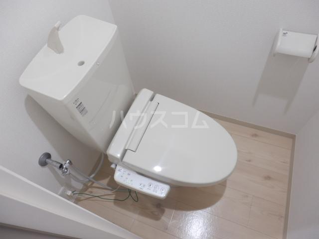 ブリリアント大木 205号室のトイレ