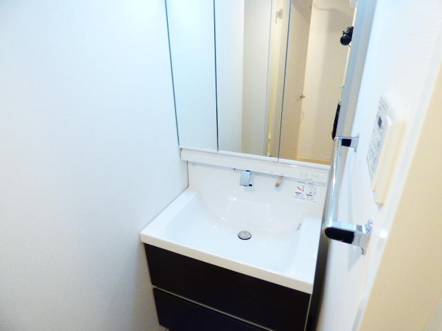 Casa Y 210号室の洗面所