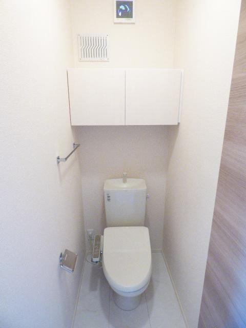 さくら館Ⅴ 203号室のトイレ