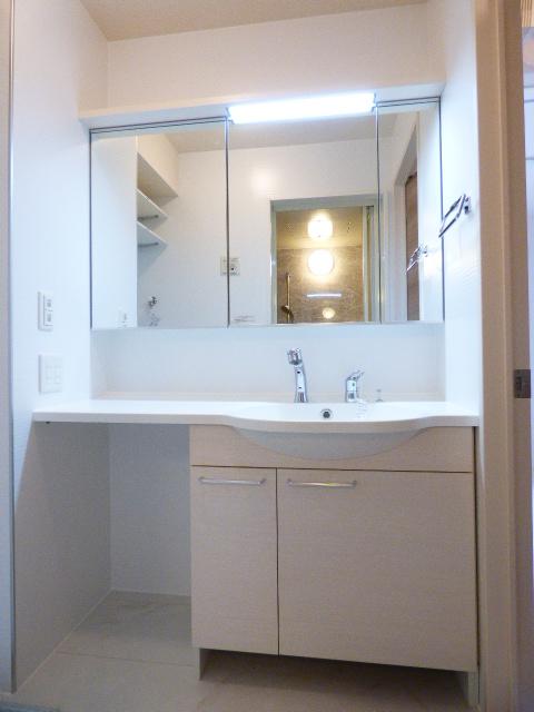 さくら館Ⅴ 203号室の洗面所