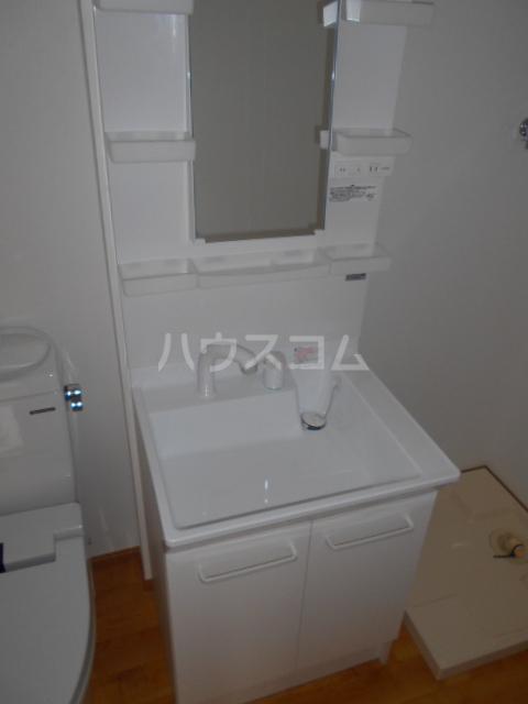 ペスカトリーチェ D号室の洗面所