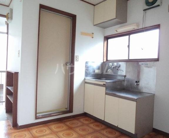 立川荘 205号室のキッチン