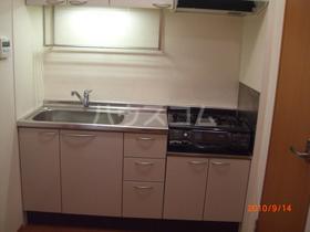 メゾンウィング 201号室のキッチン