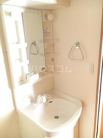 メゾンウィング 201号室の洗面所
