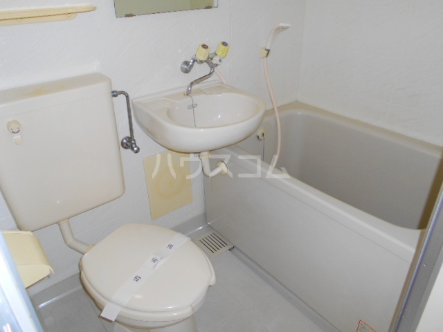 ハウス幕張 201号室の風呂