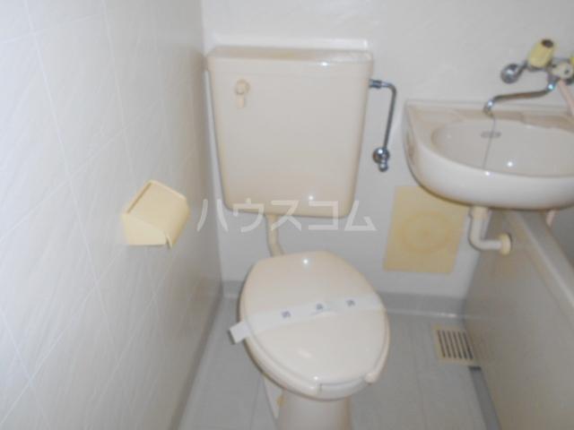 ハウス幕張 201号室のトイレ