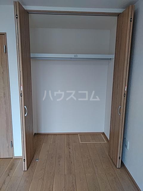 (仮称)キャメル東船橋Ⅱ 205号室の収納