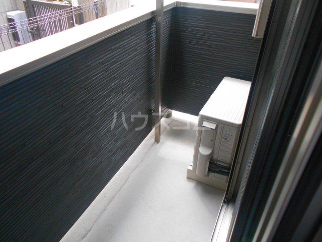 フローリッシュ津田沼Ⅲ 101号室のバルコニー