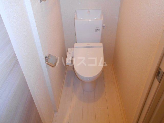 ベラーノ津田沼 103号室のトイレ