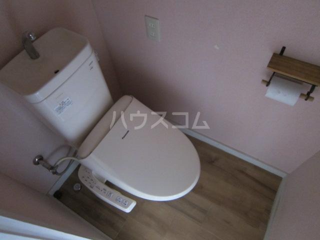 秋津第二団地 401号室のトイレ
