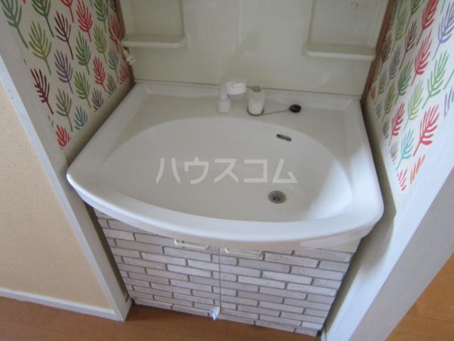 秋津第二団地 401号室の洗面所