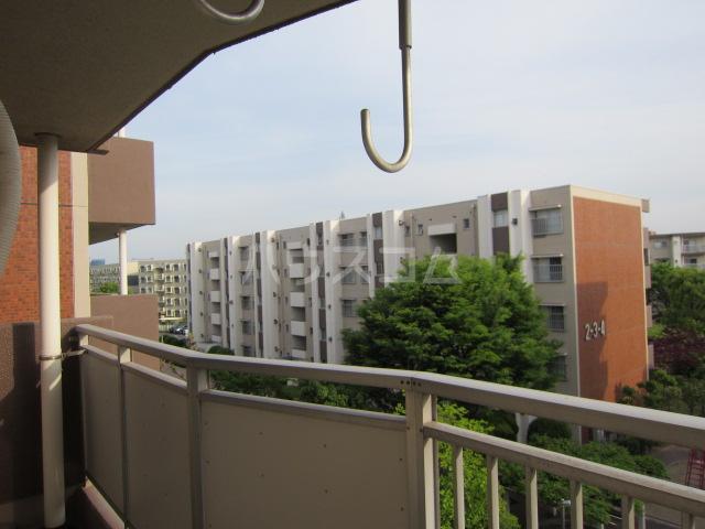 秋津第二団地 401号室の景色