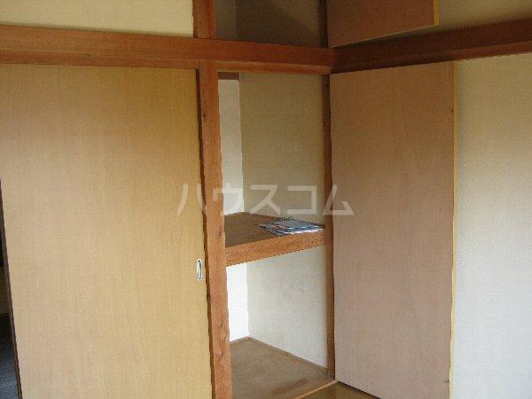 サニーハイツ青山 105号室の収納