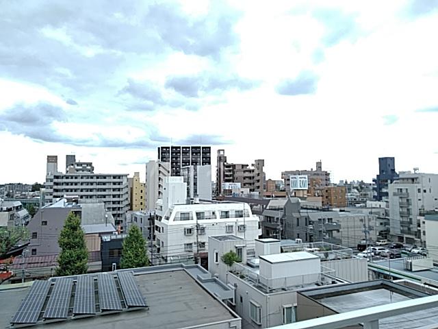 プライムアーバン武蔵小杉comodo 406号室の景色