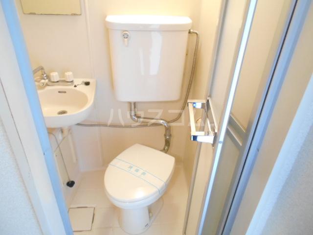 スカイコート武蔵小杉第5 208号室のトイレ